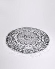 Fem.FIT.Design Wish Mandala Throw Grey