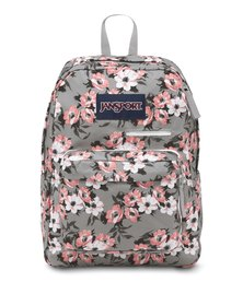 JanSport Digibreak Backpack Coral Sparkle Pretty Posey