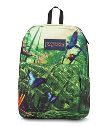 JanSport High Stakes Wild Jungle Green Festival Bag