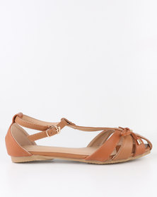 latest collections cheap online Bata Bata Waly Sandal Tan outlet locations cheap online 6b7iH