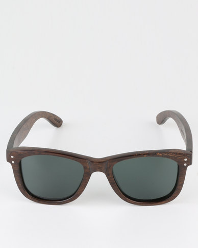 d43f266cc9 Thisguy Ebony Wood Wayfarer Sunglasses - Full Frame - Polarized | Zando