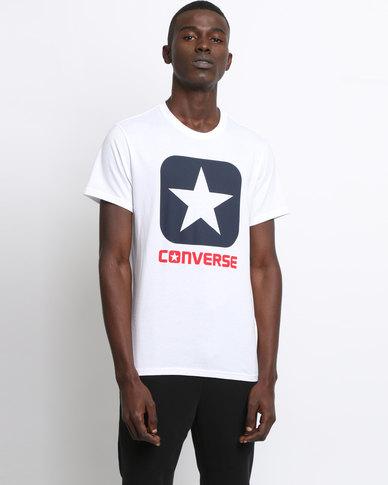Converse Core Boxstar Tee White