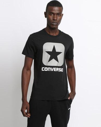 Converse Core Boxstar Tee Black