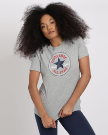 Converse Core Solid Chuck Patch Crew Grey