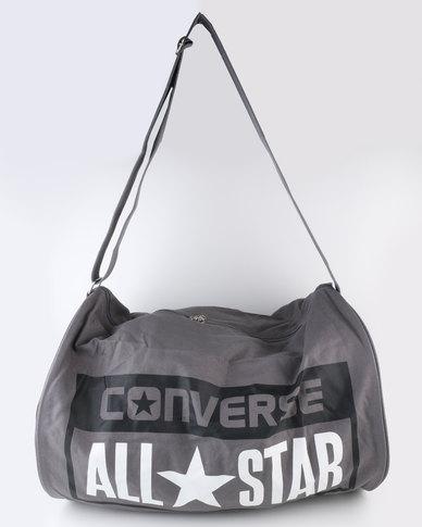 b6510cc826 Converse Legacy Barrel Duffel Bag Charcoal