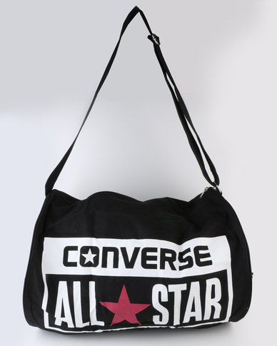 Converse Legacy Barrel Duffel Bag Black  6587ea063287d