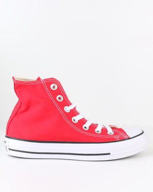 5851a08b98ab27 Converse Chuck Taylor All Star Hi Top Sneaker Red