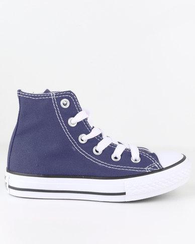 35dae20d Converse Chuck Taylor All Star Hi Top Sneaker Navy | Zando