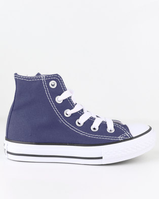 bdad69dd0670 Converse Chuck Taylor All Star Hi Top Sneaker Navy
