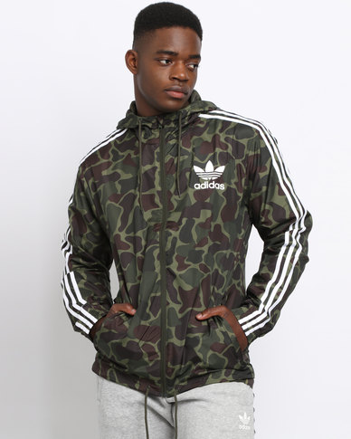 adidas camo windbreaker multi zando. Black Bedroom Furniture Sets. Home Design Ideas