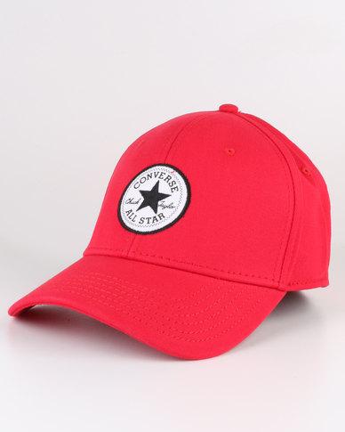 e19f6f33237373 Converse Patch Flex Cap Red