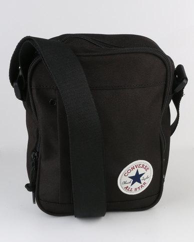 62e132f37ba7 Converse Poly Cross Body Bag Black
