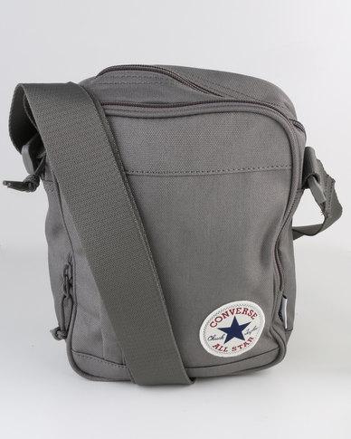 e3a00e3b92e5 Converse Poly Cross Body Bag Grey