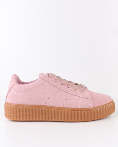 AWOL AWOL Low Cut Lace Up Sneakers Pink buy cheap nicekicks supply cheap price sale professional clearance for sale sale fashion Style ZXmxXgYLs4