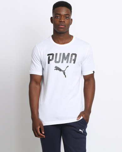 Puma by Puma Rebel Tee White
