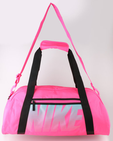 523bdfae55 Nike Performance Women s Gym Club Training Duffel Bag Pink