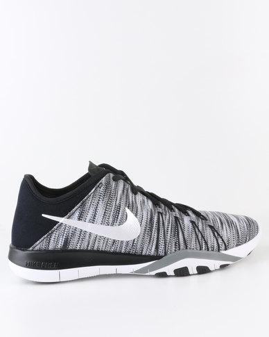 37b3c28cb5956 Nike Performance Women s Free TR 6 AMP Training Shoes Black White ...