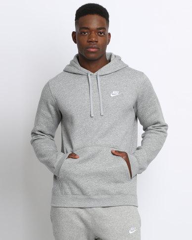 898cdf9c62d3 Nike Men s Sportswear Hoody Grey