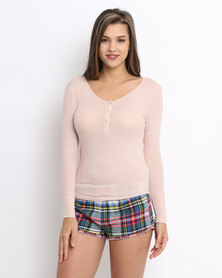 Women'secret Feminine Top Pink