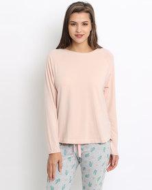 Women'secret Feminine Top Pink