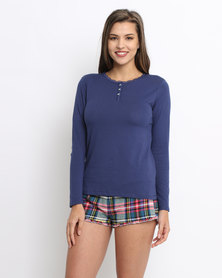Women'secret Cushion Top Blue
