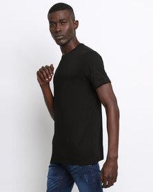 New Look Crew Neck T-Shirt Black