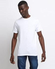 New Look Crew Neck T-Shirt White