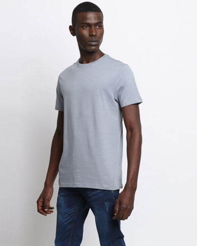 New Look Crew Neck T-Shirt Pale Blue