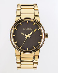 Nixon Cannon Watch All Gold And Black