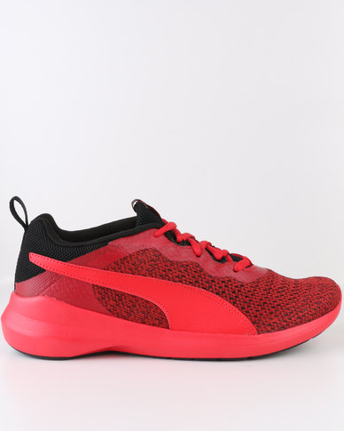 Puma Pacer Evo Knit Red