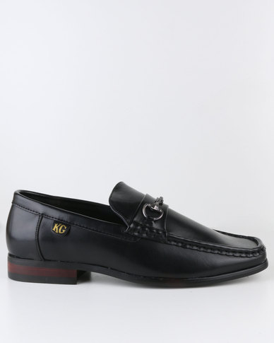 crouch casual slipon shoe black  zando
