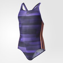 3-Stripes Graphic Swimsuit