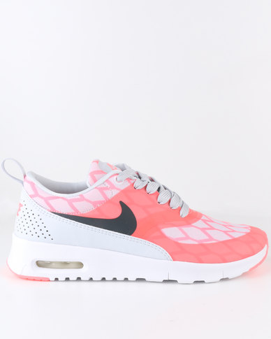 e6d2fc59fc4 Nike Girls Air Max Thea SE GS Sneaker Lava Glow