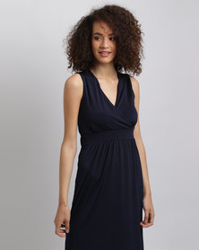 Assuili Cocktail Maxi Dress Blue