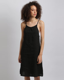 Assuili Sleeveless Dress Black