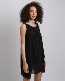 Assuili William de Faye Jewellery Lined Dress Black