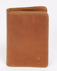 John Buck Jack Palm Wallet Tan