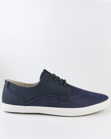 Call It Spring Haienna Lace Up Shoe Blue
