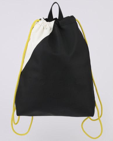 Fiorelli Elite Monochrome Drawstring Black