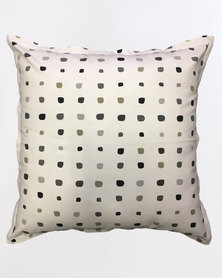 Grey Gardens Graphite Spec Scatter Cushion Multi