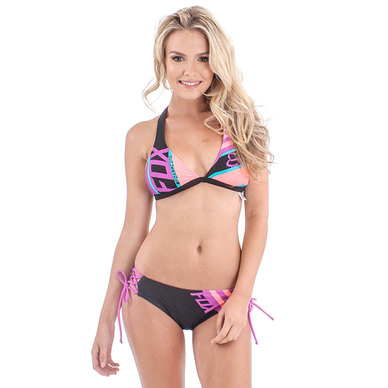 Cosmik Fixed Halter Bikini Set