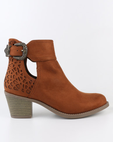 Dolcis Beth Boot Tan