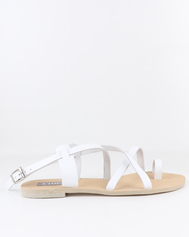 clearance buy sale collections Utopia Utopia Leather Thong Sandal White sale purchase 2014 sale online RwTH2Qd