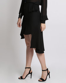 Amanda May The Quirky Frill Skirt Black