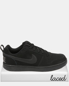Nike Court Borough Low Black