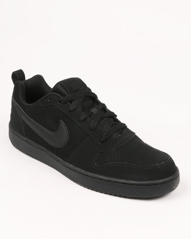 05acb3c1a52cac Nike Court Borough Low Black