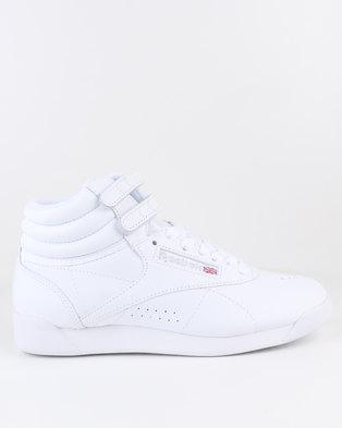 799b835c8e14 Reebok Freestyle Hi Sneaker White