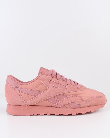 all pink reebok classics