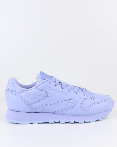 80e1e8865cd Reebok Classic Leather L Sneaker Purple