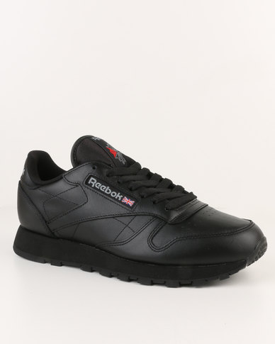 cd164350f3531 Reebok Classic Leather Black